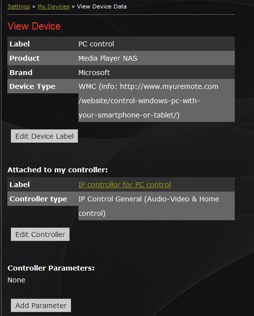 WMC control